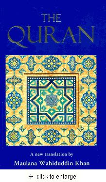 The Quran A New Translation By Maulana Wahiduddin Khan the quran medium size paperback translation only of qur an 4 5 quot x 7 quot x 1 25 quot by