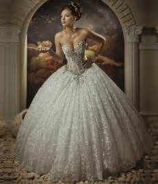 Gorgeous vintage ball gown wedding dresses 2016 sweetheart neckline