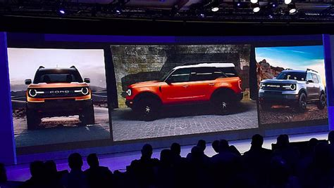 2020 Mini Bronco by 2020 Ford Bronco Leaked Nope It S Baby Bronco