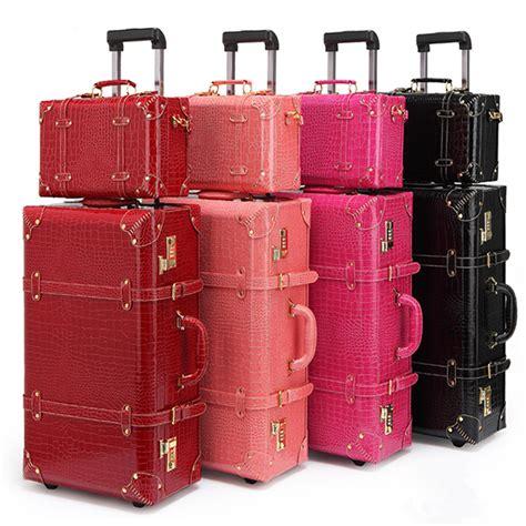 Pattern Travel Set 6 In 1 Bags In Bag Organizer Tas Set Dalam Kope retro bag luggage set suitcase travel bags