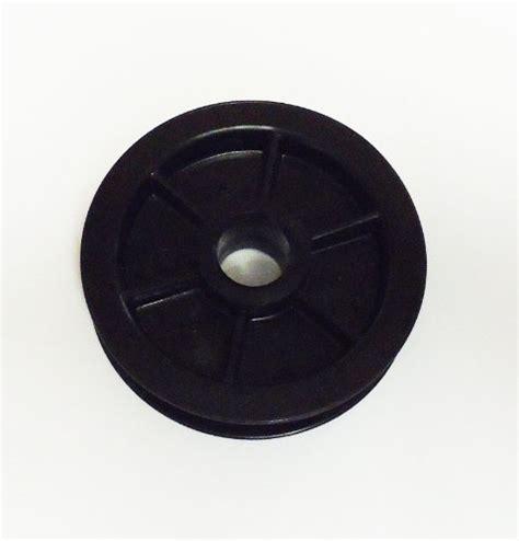 Garage Door Pulley Wheel by 144c54 Idler Pulley Chamberlain Craftsman Belt Drive Square Rail Garage Door Bnc