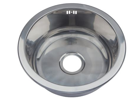 small round kitchen sinks small round bowl stainless steel inset kitchen sink