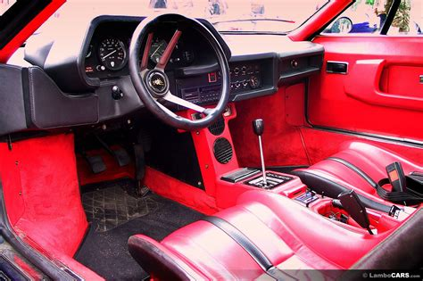 lamborghini custom interior silhouette p300 silhouette 18 hr image at lambocars com