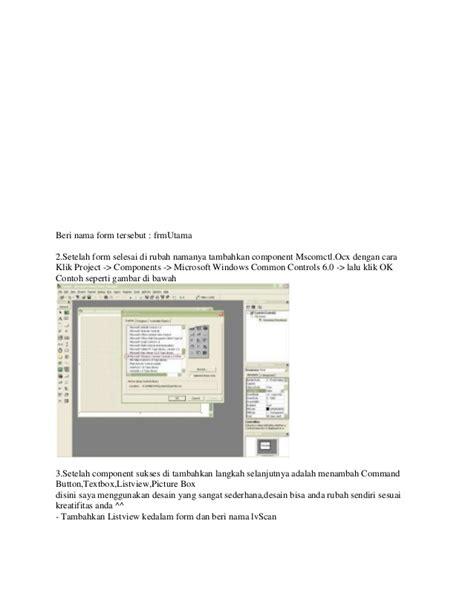 Rahasia Membuat Antivirus Menggunakan Visual Basic cara membuat antivirus dengan visual basic 6