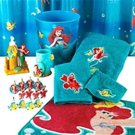 little mermaid bathroom accessories little mermaid bath collection for my home pinterest