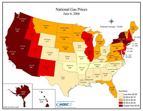 gas prices map usa energy insights special report 109 us prices how