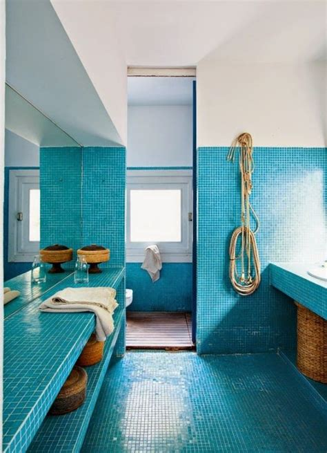 blue tiled bathroom pictures spruce up your home with color blue tiles for the