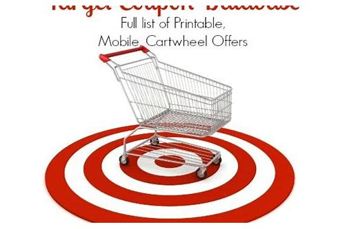 target cartwheel mobile coupon