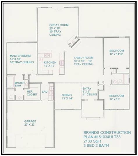 free home blueprints free house floor plans image search results
