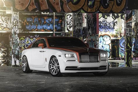 forgiato rolls royce rolls royce wraith dips in candy apple red with forgiato