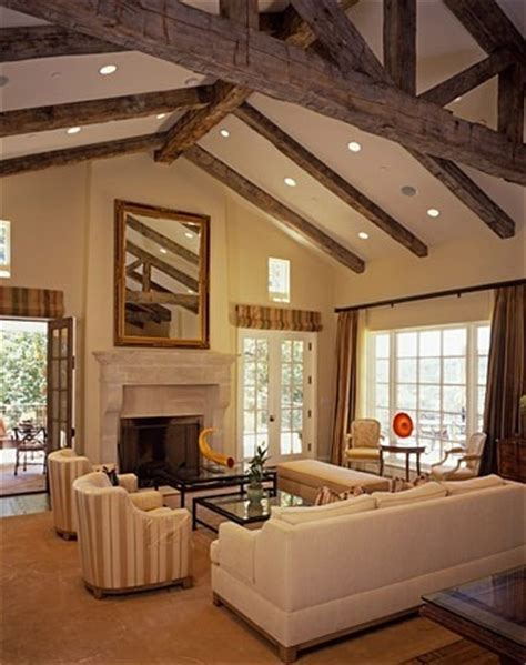 Cedar Living Room by Beams Ceilings And Ceiling Beams On