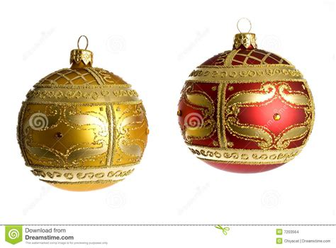 christmas tree ornaments stock images image 7203564