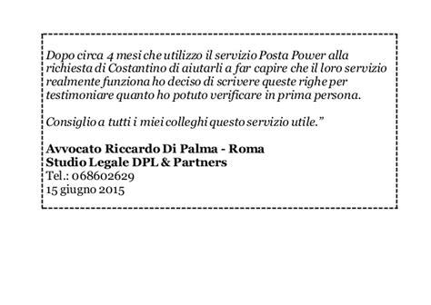 poste italiane ufficio legale roma posta power testimonianze clienti roma