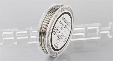 Authentic Ss316l 24ga Awg By Ud Stainless Steel 24 buy authentic vapethink 316 stainless steel 26ga heating wire rba atomizer silver 0 4mm 3m
