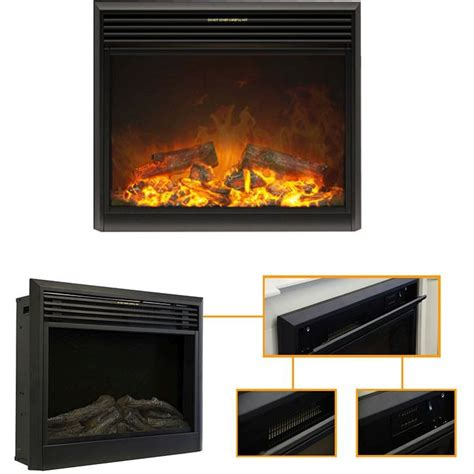 soho electric 3d wall insert fireplace 2000w buy