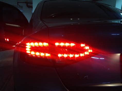 type s led lights installation dead led on tail lights audi sport net s avant car type rs