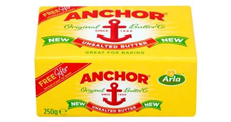 Butter Anchor Unsalted By Tokoyeye anchor unsalted block butter from arla foods foodbev media