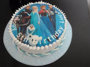 Frozen cake topper birthday cake wedding amp birthday cakes from