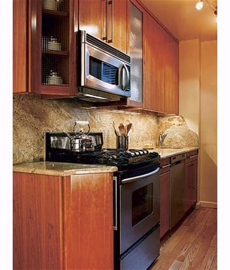 small galley kitchen design with home depot natural hickory kitchen a chef s small kitchen galley kitchen design home depot