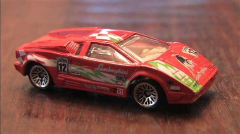Hw Wheels Lamborghini Countach 12 Lamborghini Countach Wheels Review By Cgr Garage