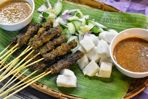 satay house johor satay at al mizan satay house johor kaki travels for food