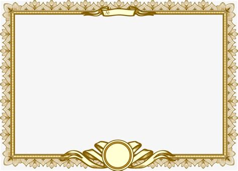 certificate lace certificate lace frame png and vector