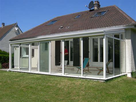 aluminium veranda v 233 randa acier alu et bois