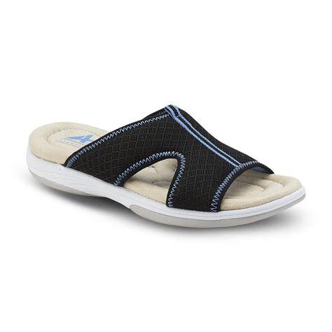 kmart womens sandals athletech s averley sandal black