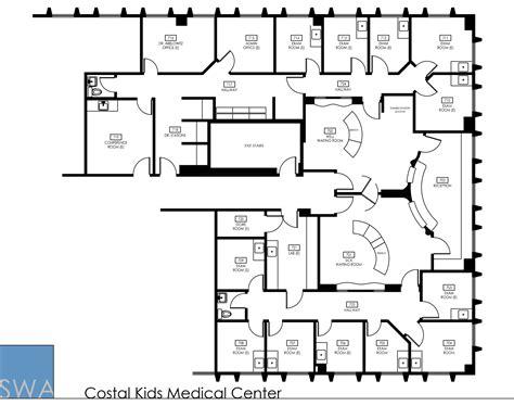 medical center floor plan coastal kids medical center saunders wiant oc
