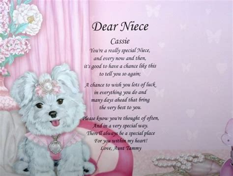 Happy Birthday Quotes To My Niece Image Gallery Niece Poems