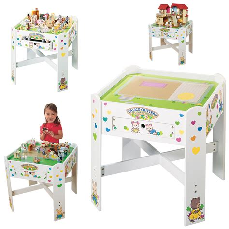 calico critter table calico critters play table lookup beforebuying