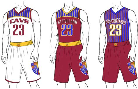 jersey design basketball 2015 cavs espn redesigns cavaliers jerseys waiting for next year
