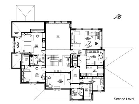 modern house floor plans top modern house floor plans