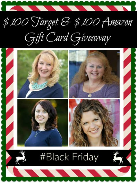 Amazon Giveaway Black Friday - black friday target and amazon gift card giveaway in the