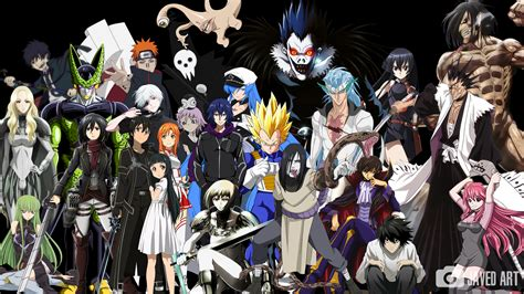 C Anime Characters by A Simple Of My Favorite Anime Characters By