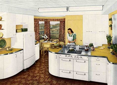 Cold Kitchen by How To Be Uncertain Or My Cold War Kitchen Cabinets