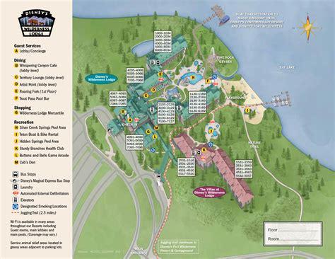 club resort map disney disney s deluxe resorts budget 4 disney
