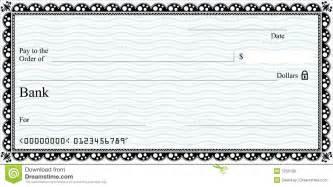 cheque stock photo image 7259150