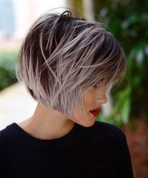 short gray layered bob 17 best ideas about short grey haircuts on pinterest