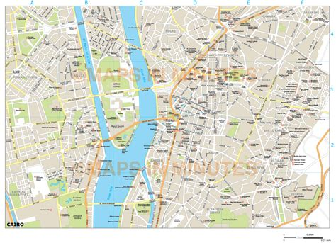 where is cairo on a map cairo city map