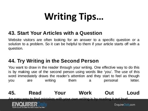 Helpful Essay Writing Tips by Writing Tips