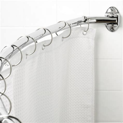 canopy curved hotel shower rod walmart com