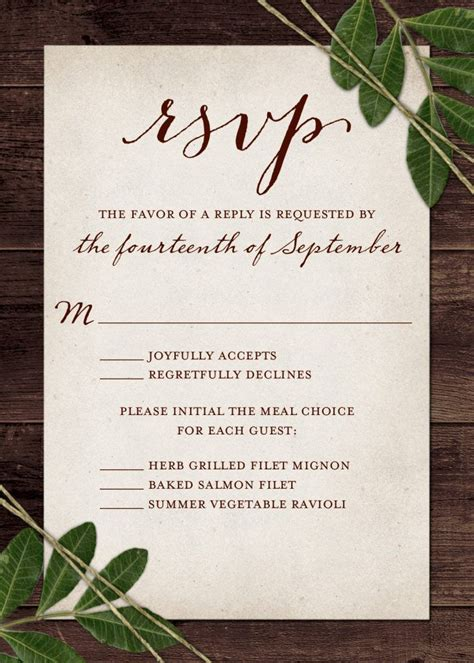 wedding rsvp wording and card etiquette 2019 our wedding wedding invitation rsvp wording