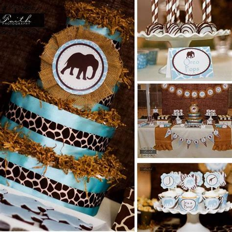 safari themed decorations shop for baby shower decorations best baby decoration