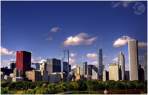 chicago skyline buildings identified chicago skyline plate 2 of 4 cityscape urban photos