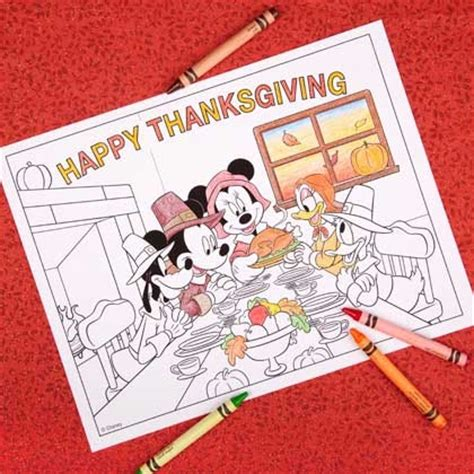 printable disney thanksgiving cards mickey friends thanksgiving coloring page disney family