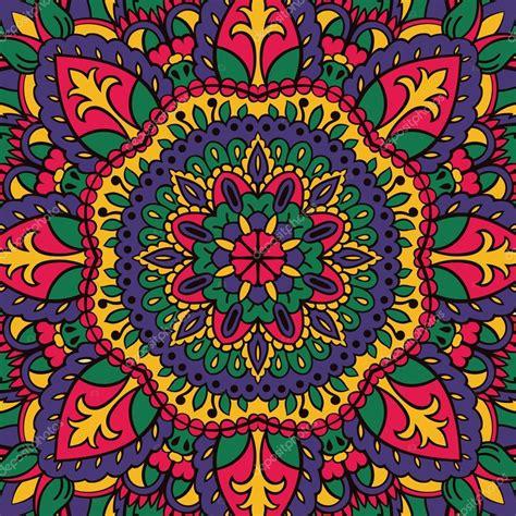 imagenes mandalas de colores patr 243 n de colores de los mandalas vector de stock
