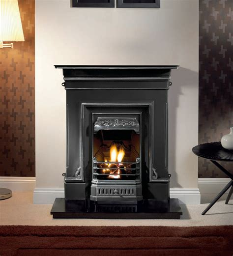 And Fireplace by Gallery Edinburgh Cast Iron Combination Stanningley