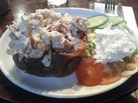 Jaket My Trip Cl jacket potato with crispy bacon and chicken picture of