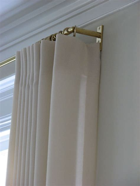 window brackets for curtains best 25 drapery hardware ideas on pinterest bay window